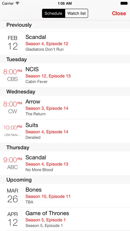 tv show tracker 3 screenshot-2