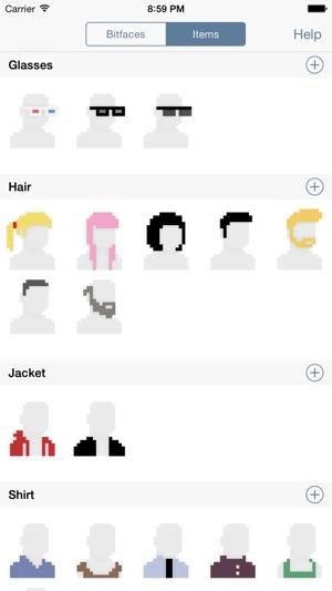 Bitface - 8-bit Avatar Creator on the App Store