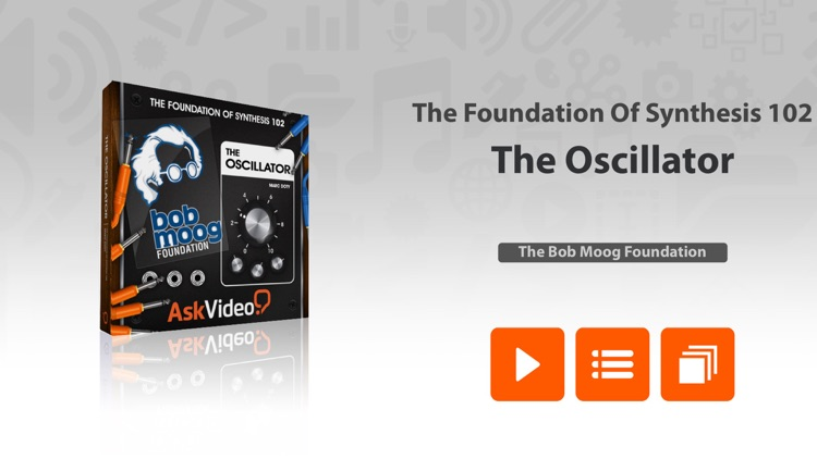 The Oscillator - Foundation Of Synthesis screenshot-0