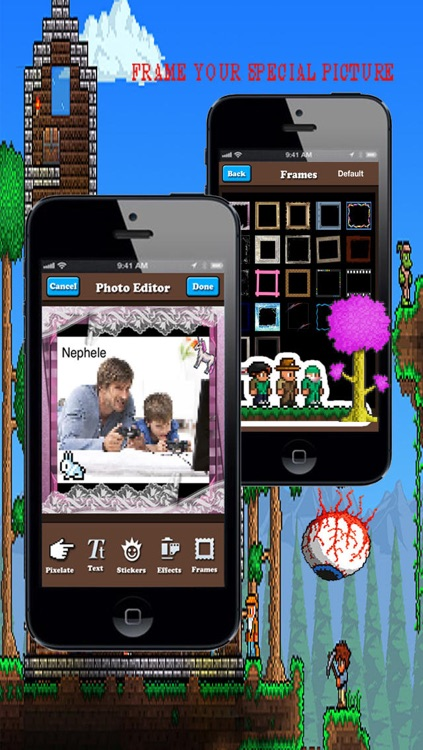 Cartoonize Yourself with Photo Editor  for Terraria Pro