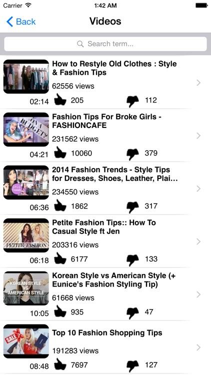 Fashion Tips! screenshot-3