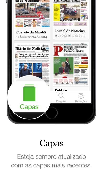 SAPO Jornais screenshot one