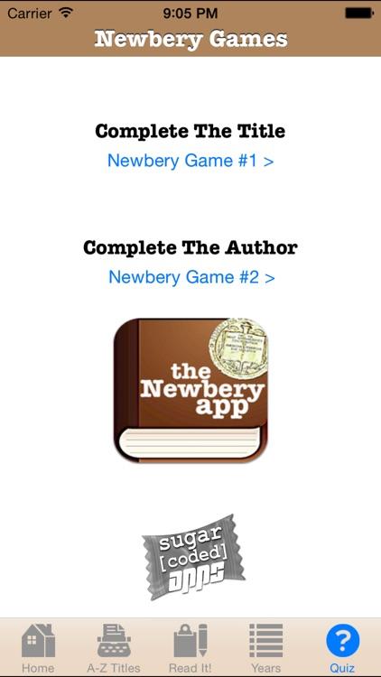 The Newbery App screenshot-3