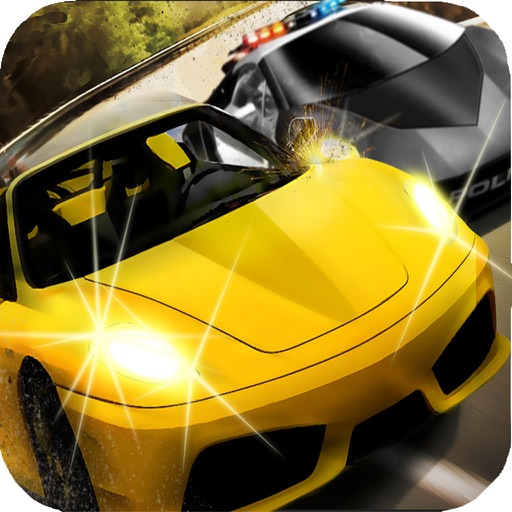``Action of Offroad Car Racing: Police Chase Driving Free