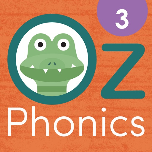 Oz Phonics 3 - Consonant Blends, CVCC Words, Digraphs, Spelling