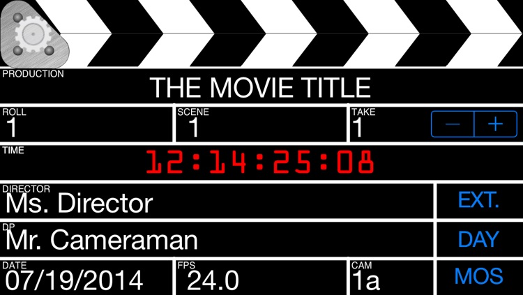 Grat's Film Slate/Clapboard screenshot-0