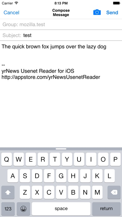 yrNews Usenet Reader screenshot1