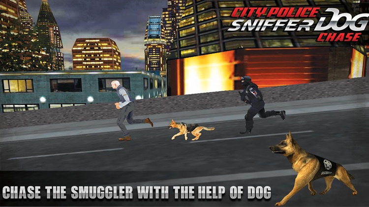 Security Police Dog Sniffer Simulator : Help forces secure the city from criminals screenshot-4