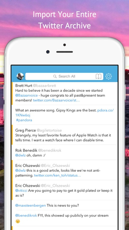 Tweet Seeker - Search Your Tweets, Mentions, Faves, and DMs, Import Your Twitter Archive
