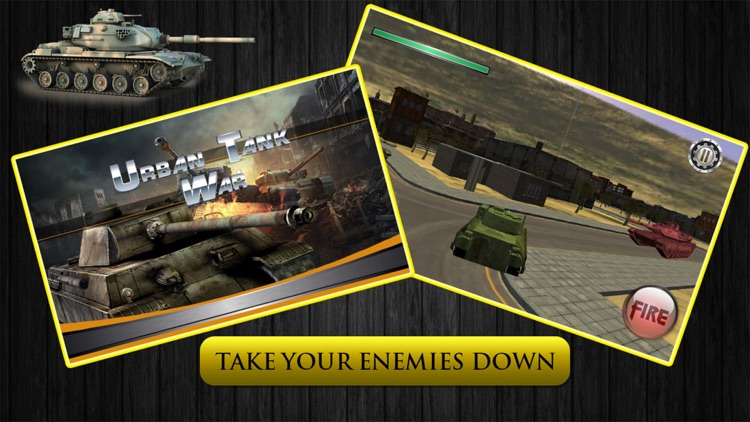 Urban Tank War - Assault in City