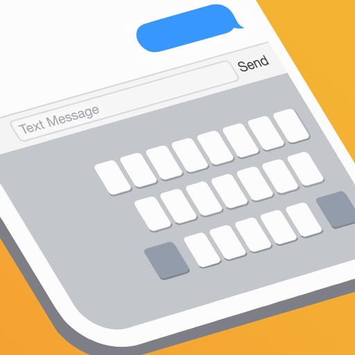 TinyKey - One handed keyboard for iPhone 6 & 6 Plus