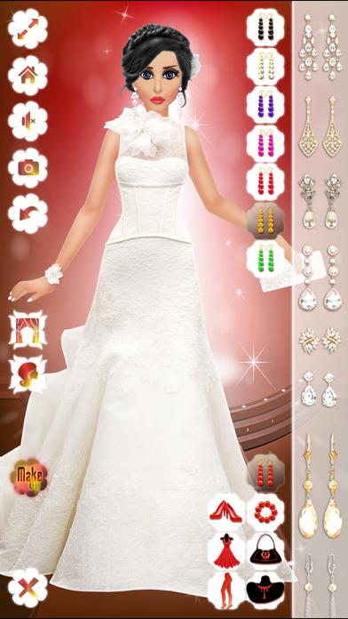 点击获取Wedding Bridal Makeup & Dress