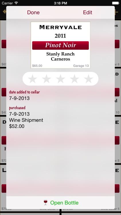 Bottles - Wine Cellar Manager screenshot-3