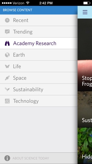 ‎Science Today Screenshot