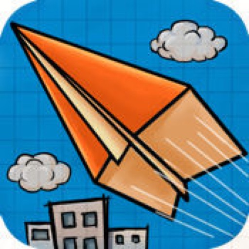 Paper Plane -- Aircraft flight Arcade icon