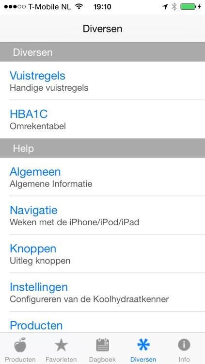 Koolhydraatkenner screenshot-4