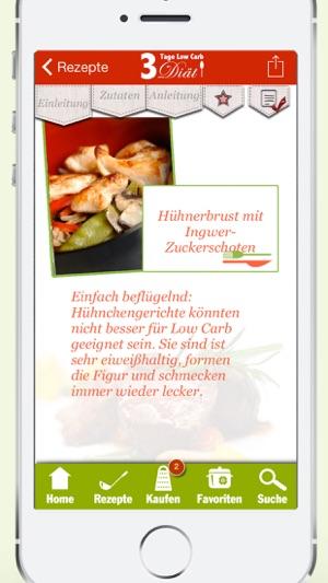 Rezepte ohne kohlenhydrate app