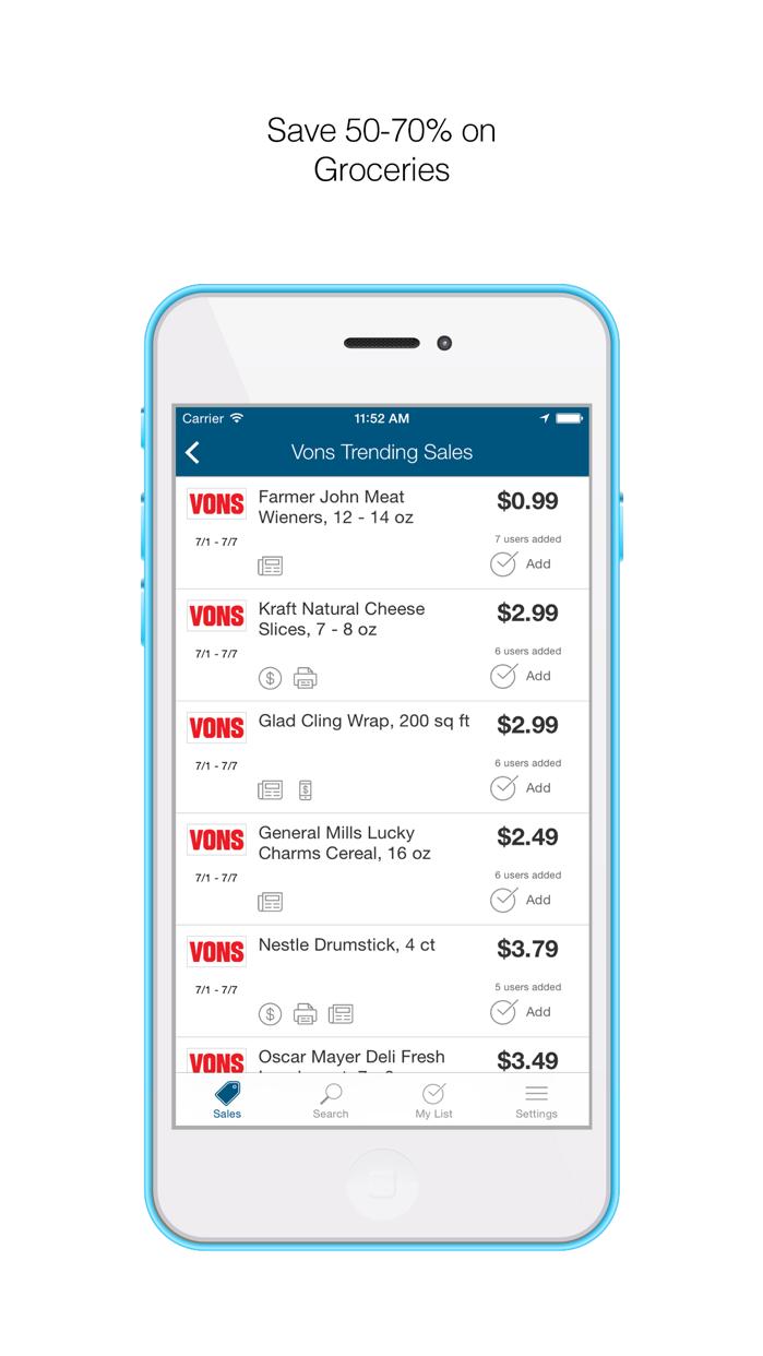 Favado Grocery Sales Screenshot
