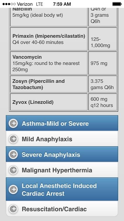 Adult Anesthesia screenshot-3