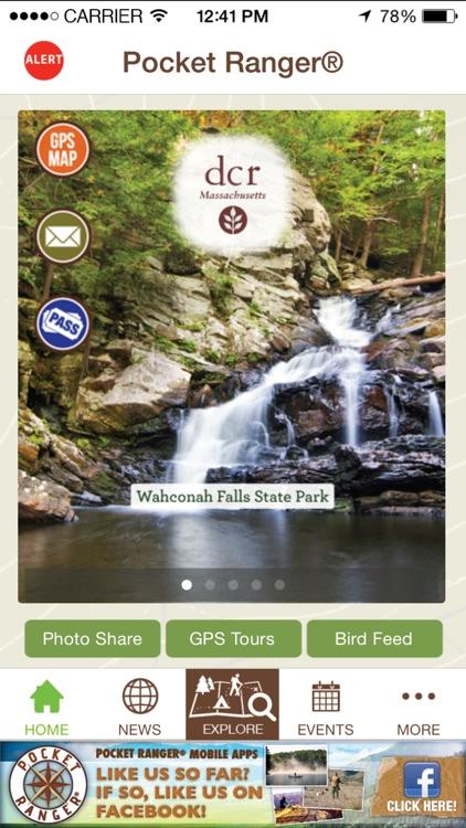 Massachusetts Parks Adventure Guide - Pocket Ranger®