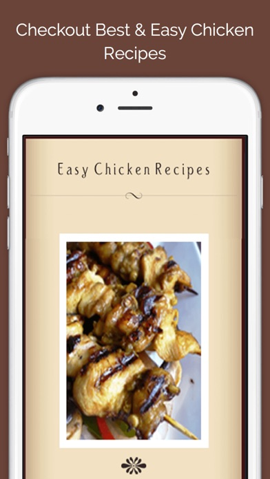 Easy Chicken Recipes screenshot one
