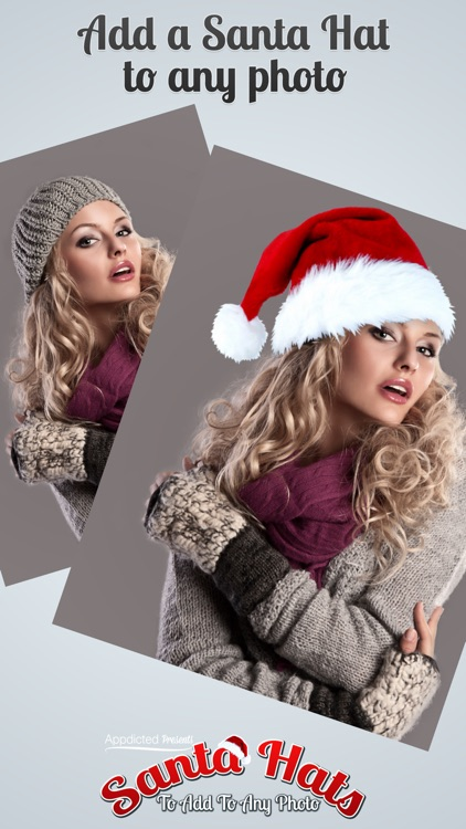 Santa Hats - Virtually add Santa Hats, Beards and Even Santa to your photos
