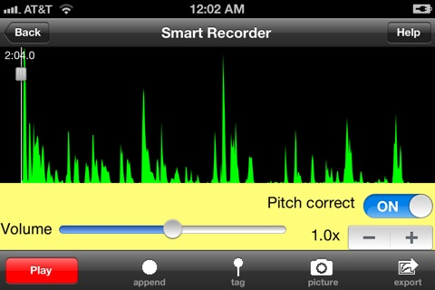 Screenshot of Smart Recorder Classic - The Transcriber/Voice Recorder