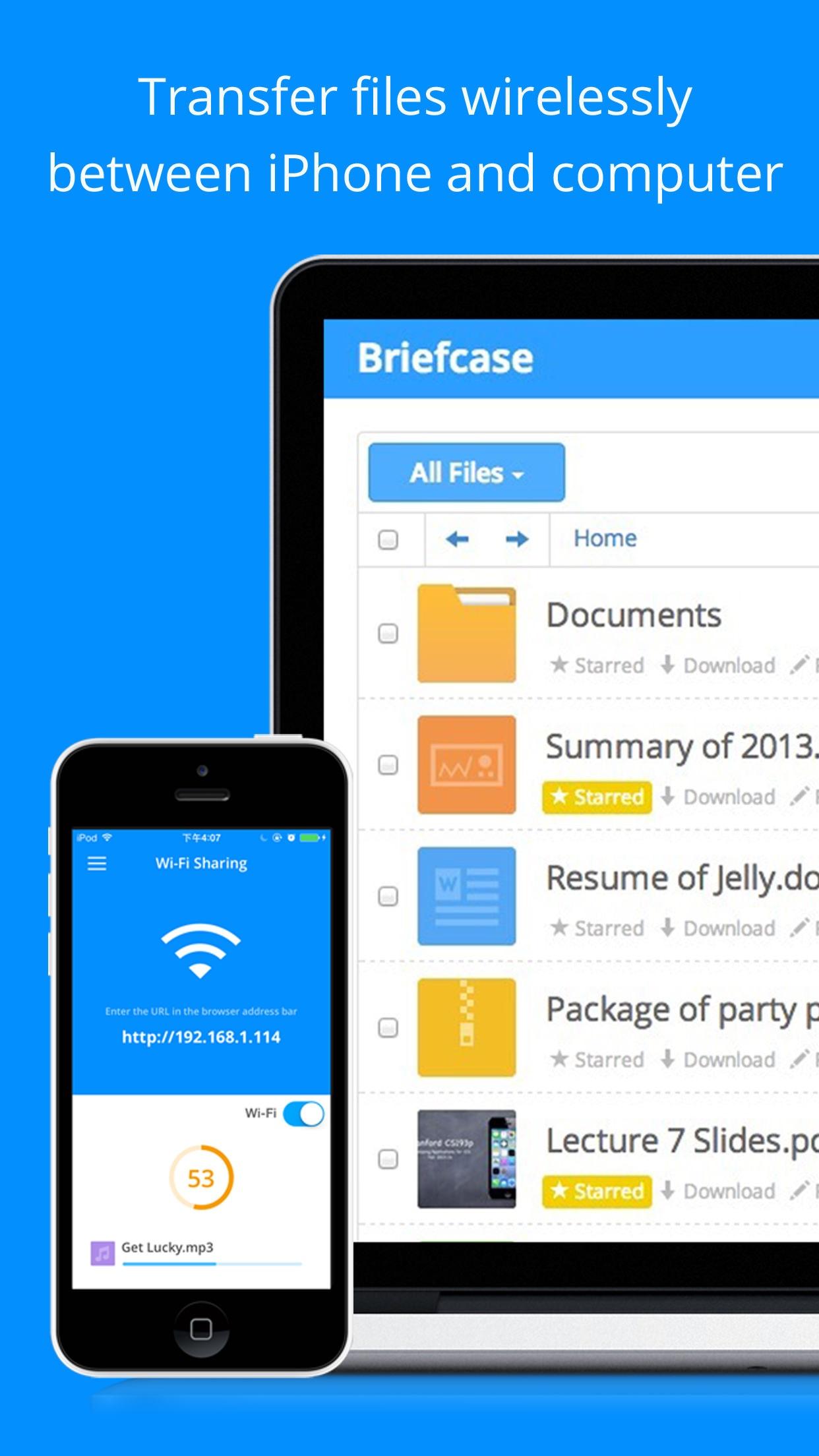 Screenshot do app Briefcase Pro - Leitor gerenciador de arquivos, documentos e PDF