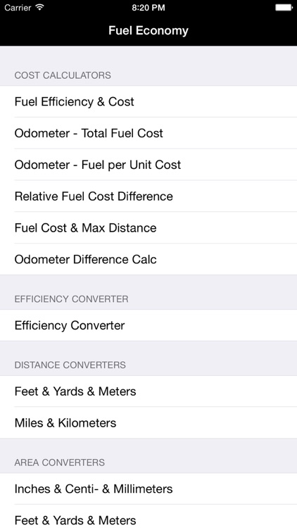 Fuel Calc : MPG, L100k, Car Economy Calculator screenshot-4