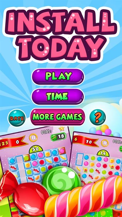 Candy Feast - fruit jam in match-3 mania game free screenshot-4