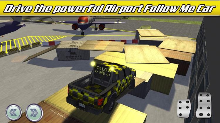 Airport Trucks Car Parking Simulator - Real Driving Test Sim Racing Games screenshot-4