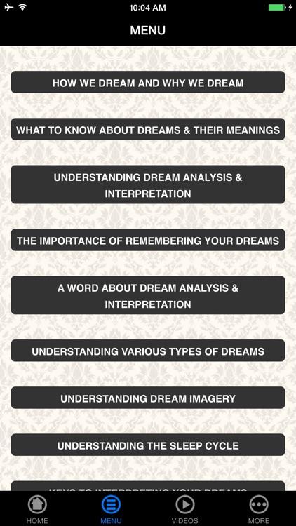 Dream Meanings - Beginner's Guide screenshot-4