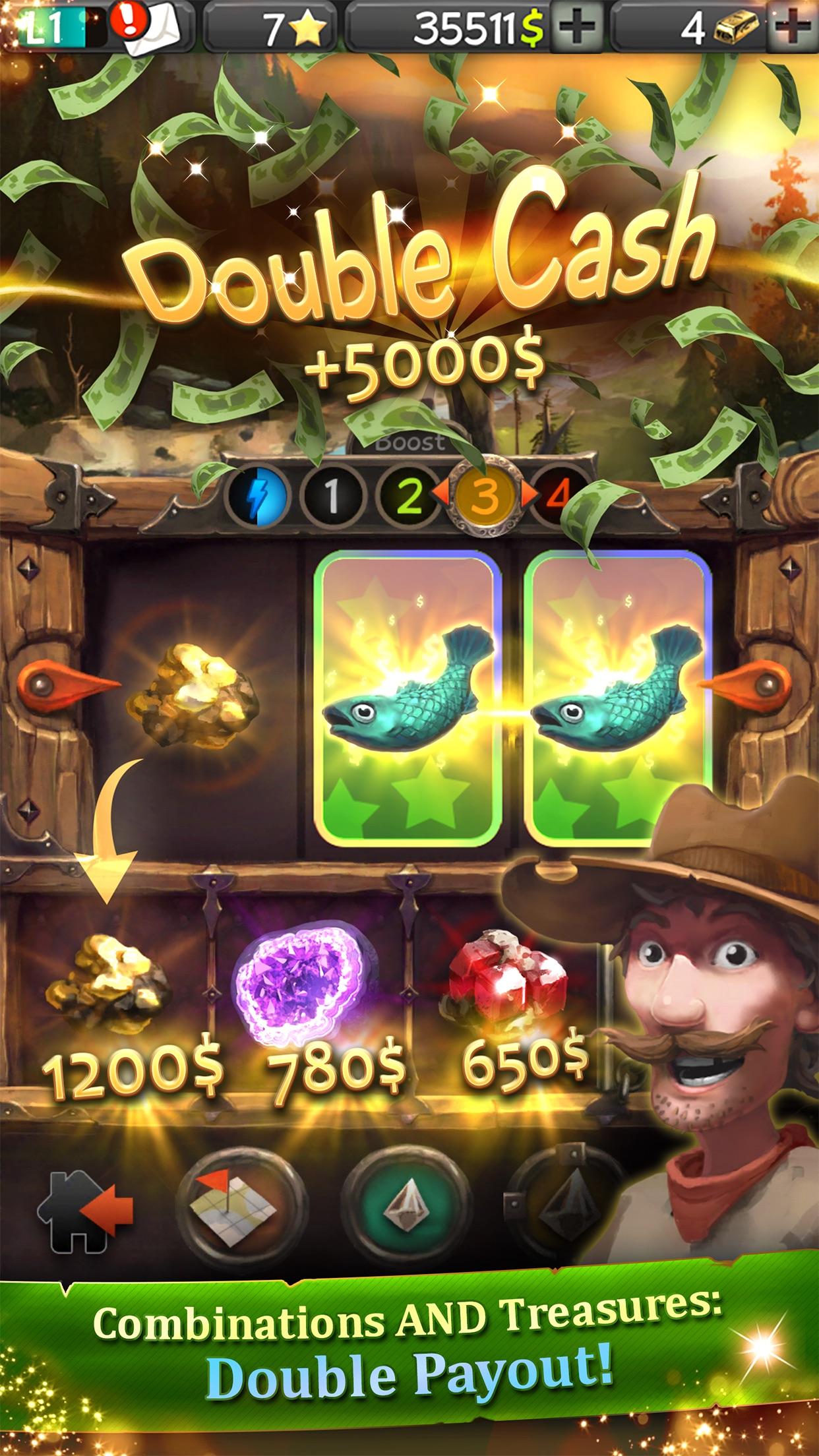 Slot Raiders - The Great Treasure Quest Screenshot