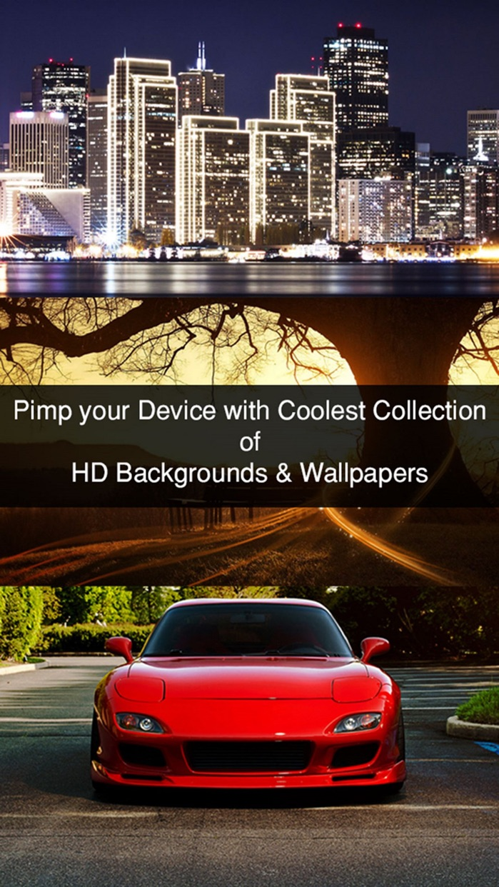 HD Wallpapers & Backgrounds for iPhone Screenshot