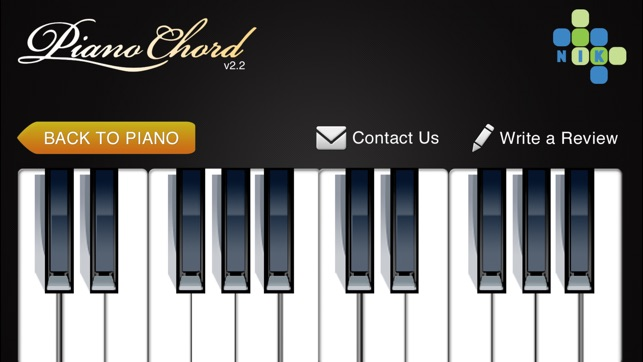 Piano Chord On The App Store