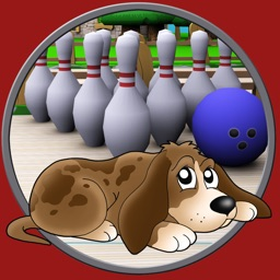 Dog bowling for kids - without ads