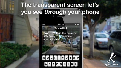 Type n Walk FREE Screenshot on iOS