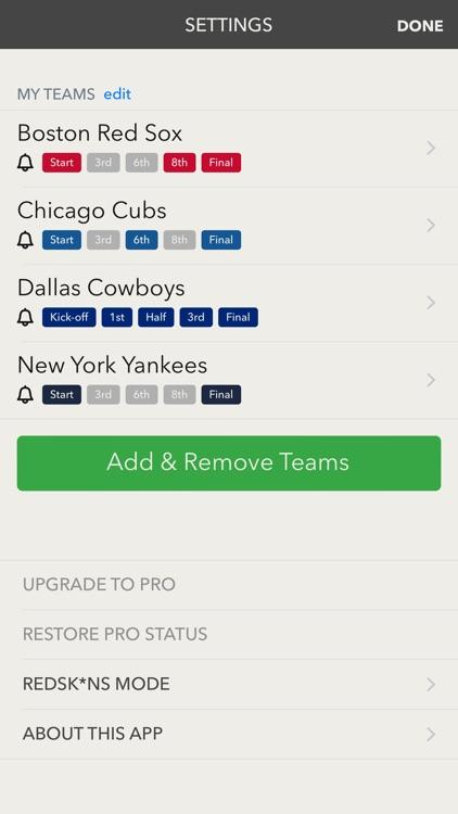 Scored - a better sports app. screenshot-4