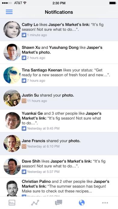 Screenshot for Facebooks Sidhanterare in Sweden App Store