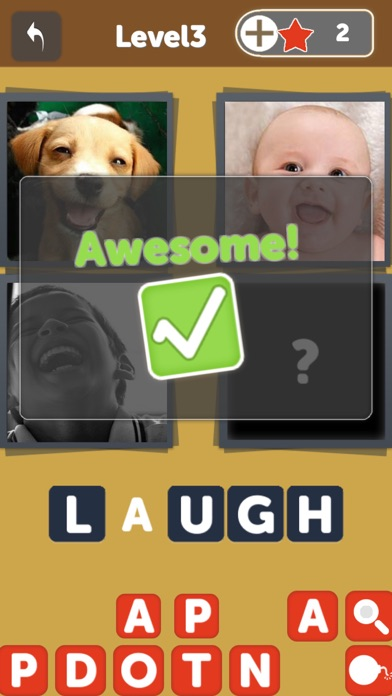 OMG Guess What - Pics to words puzzle Quiz, find 1 word from 4 picture in this free family pic gameのおすすめ画像3