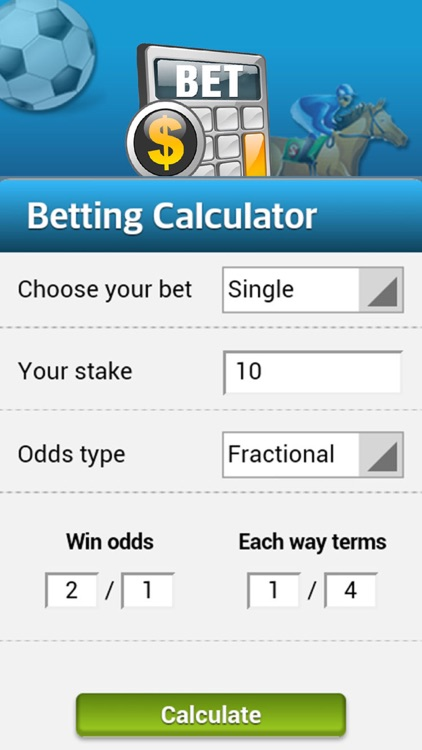 Bet calculator for william hill by emiley meyer.