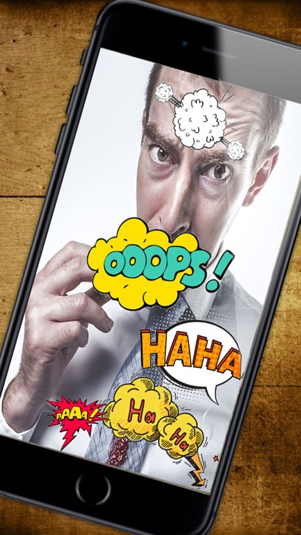 comic - photo stickers - Funny stickers - Premium