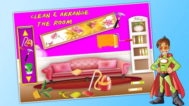 Baby Full House Fix & Cleanup - Play and Have Fun For Kids screenshot-3
