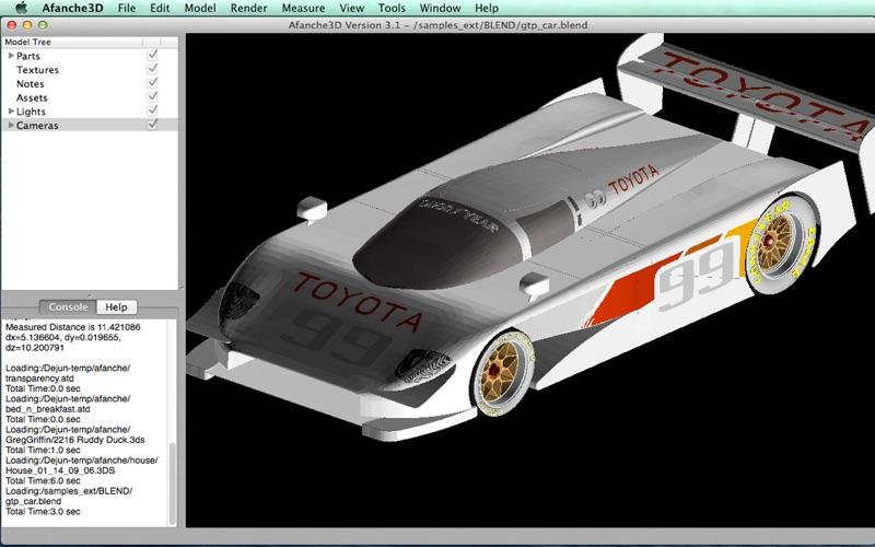 Afanche3D Pro скриншот программы 5