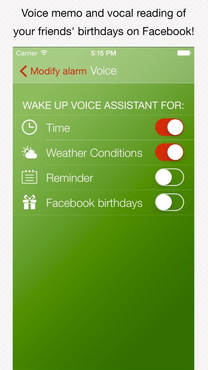 Genius Alarm- Weather Smart Alarm Clock, Set up wake-up alarms according to the weather forecast! screenshot-4