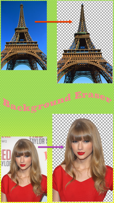 Background Eraser for iOS - Super Photo Chop && Photo Cut Out