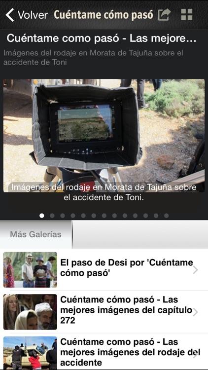 Cuéntame Cómo Pasó en RTVE.es screenshot-3