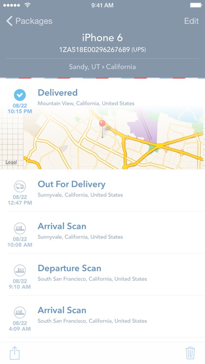 Delivered! – Package Tracking Made Simple