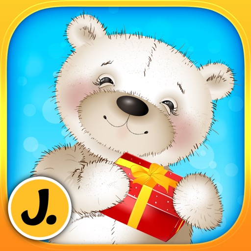 Cute Teddy Bears - puzzle game for little girls, boys and preschool kids