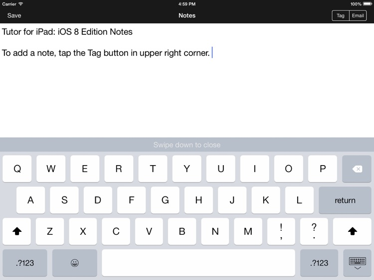 Tutor for iPad: iOS 8 Edition screenshot-4